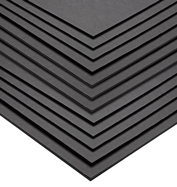 AdirOffice Foam Board 5mm Sheets (22 x 28 - 6 Pack, White)