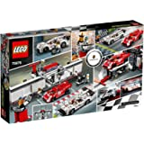 LEGO Speed Champions Porsche 919 Hybrid and 917K Pit Lane - building sets (Any gender, Multicolour)