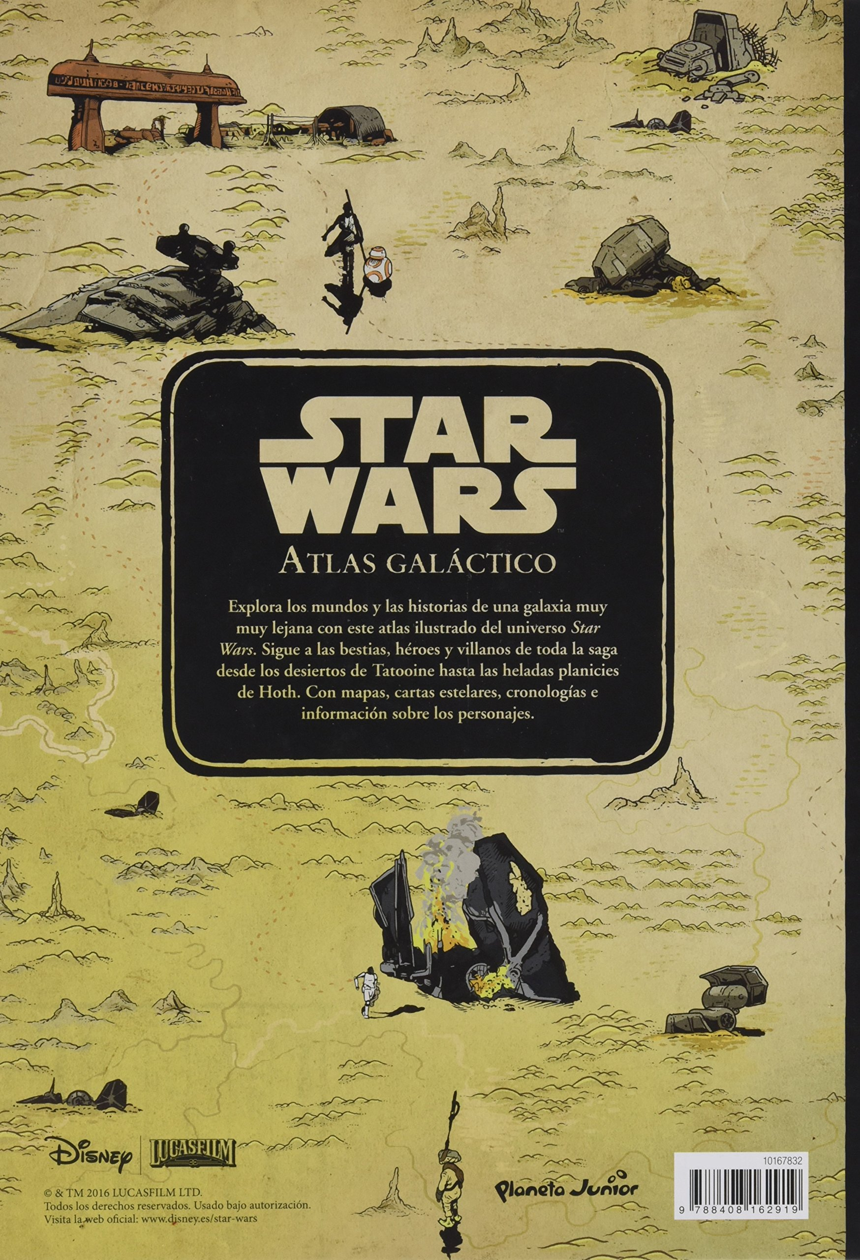 Star Wars. Atlas galáctico: Star Wars: 9788408162919: Amazon ...