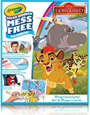 Crayola Color Wonder Colouring Book, Lion Guard, Mess Free Colouring, Washable, No Mess, for Girls and Boys, Gift for Boys and Girls, Kids, Ages 3, 4, 5,6 and Up, Summer Travel, Cottage, Camping, on-the-go,  Arts and Crafts,  Gifting