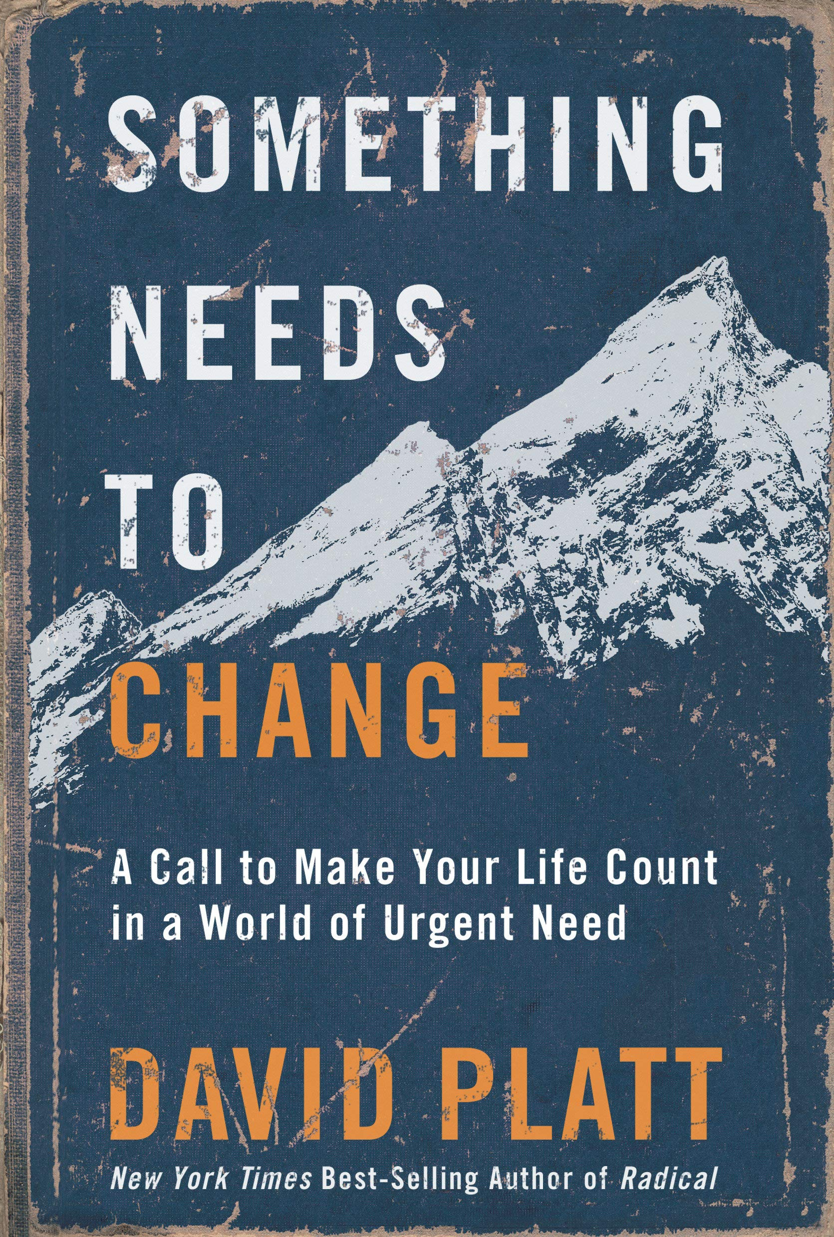 Something Needs to Change: A Call to Make Your Life Count in a World of Urgent Need by WaterBrook Press