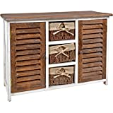 Ts Ideen Cabinet Closet Cupboard Chest Country House