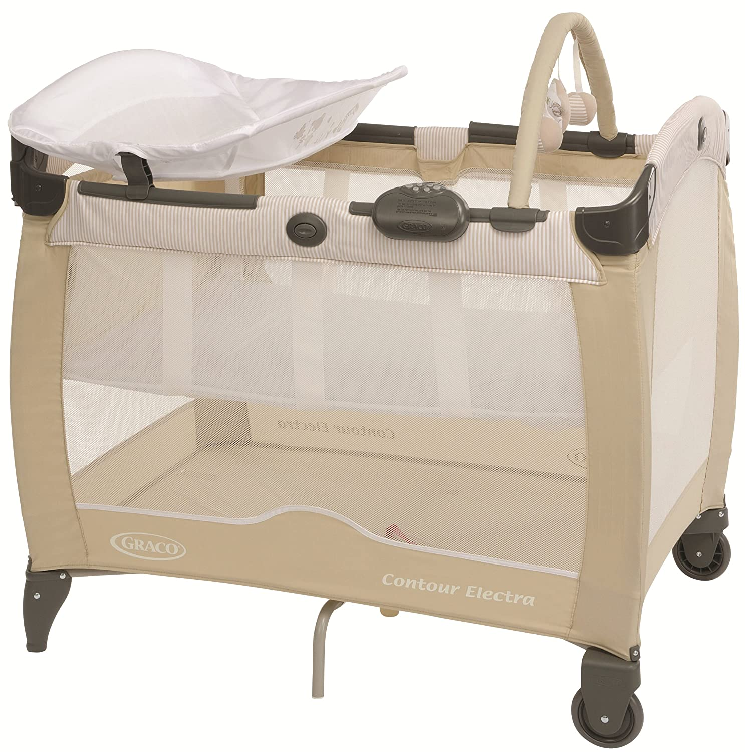 Graco Contour Electra Playard, Woodland Walk Newell Rubbermaid 1989110