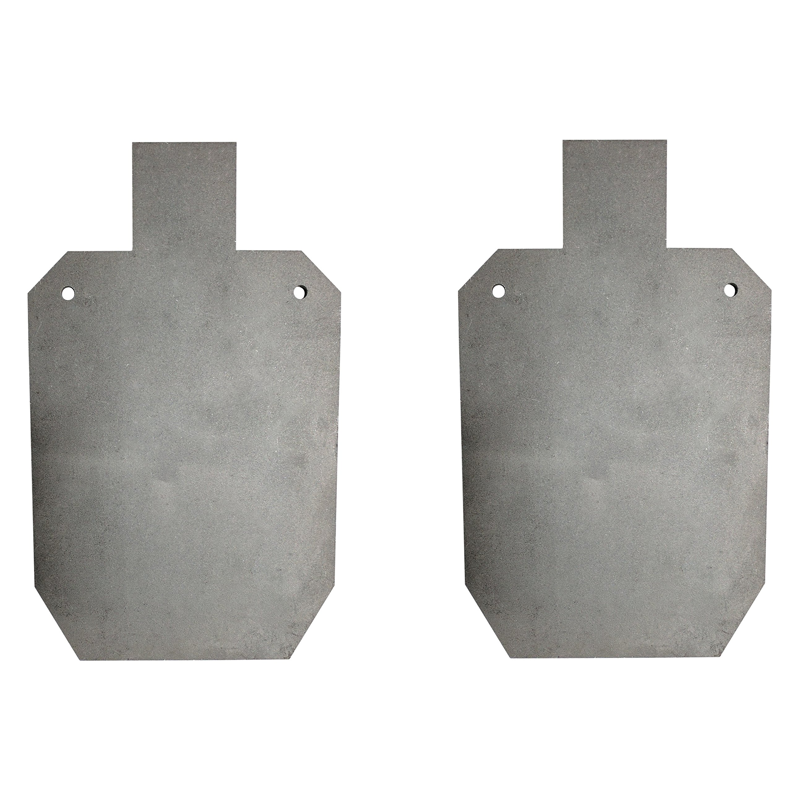 Titan AR500 Silhouette Style Steel Plate Shooting Target 20''x12'' 3/8'' Thick (20'' x 12'' (Pair))