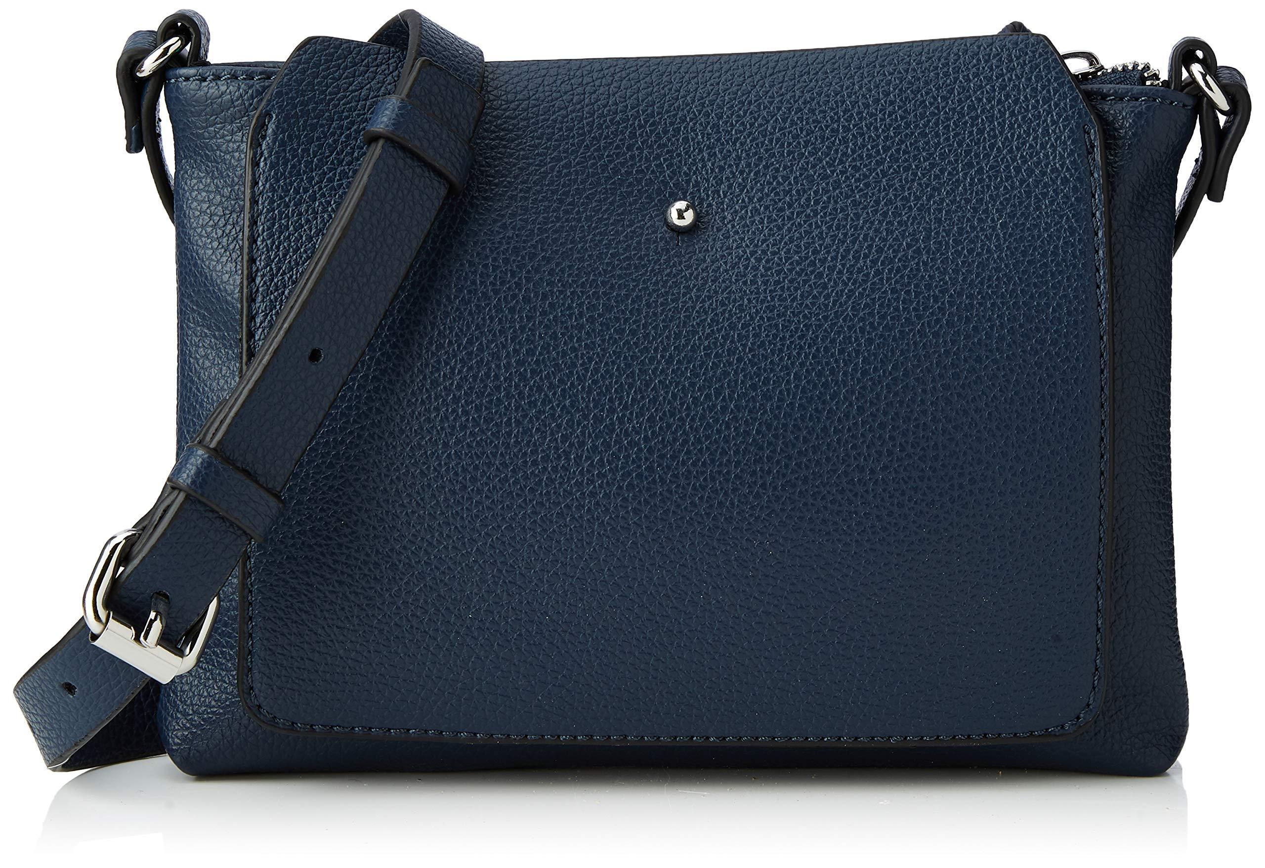 edc by Esprit Accessories 128ca1o003 Women's Shoulder Bag, Blue (Navy), 2x16x21.5 cm