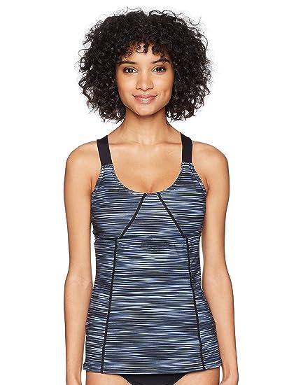 dcad20495d23d Amazon.com : TYR Women's Arvada Emma Tank Swimming Top : Clothing