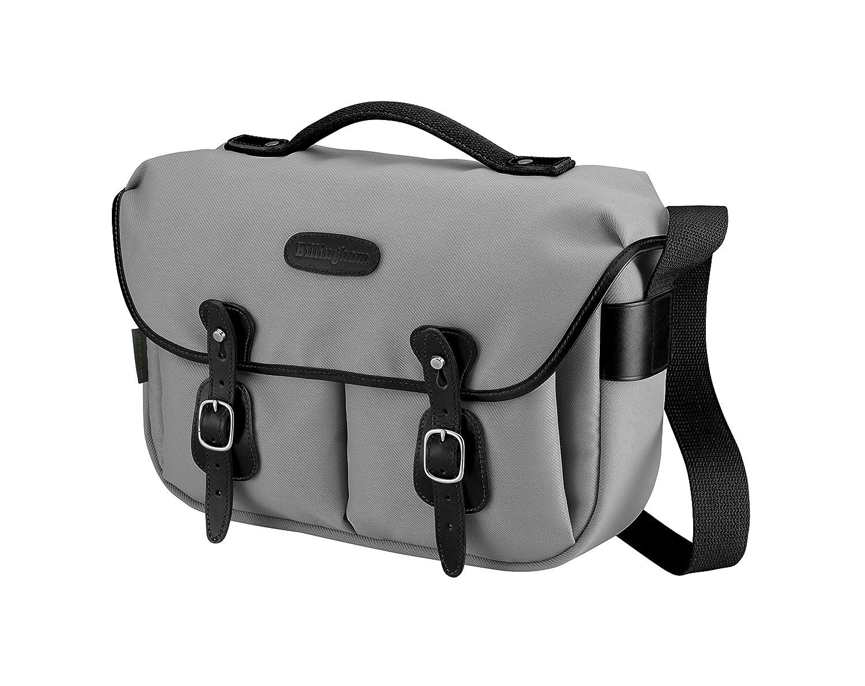 Billingham Hadley Pro Shoulderバッグ – グレーキャンバス/ブラックレザー505225 – 01 B00RSOLX52