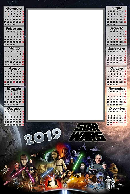 calendario plastificado A3 personalizado 1 Fotos 2019 Pared ...