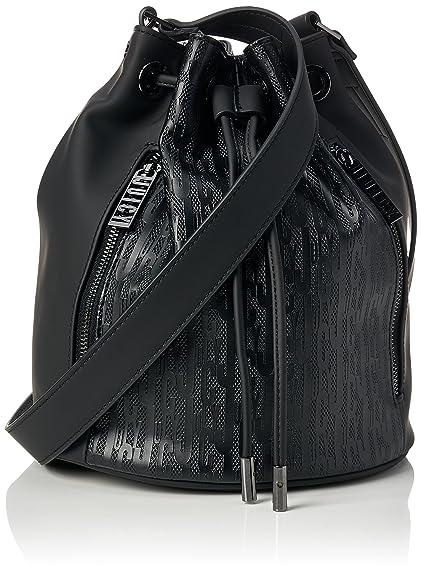 Juicy by Juicy Couture Womens Melrose Shoulder Bag Black (Black Deboss) 8c2a981c423f