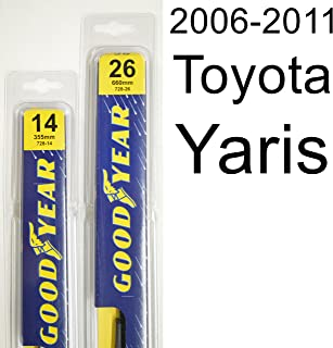 "product image for Toyota Yaris (2006-2011) Wiper Blade Kit - Set Includes 26"" (Driver Side), 14"" (Passenger Side) (2 Blades Total)"