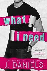 What I Need (Alabama Summer Book 5)