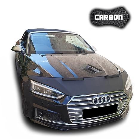 Protector de Capo para A5 F5 CARBON Cabrio Cupé Bra Protectores Capot Coche máscaraTuning NUEVO