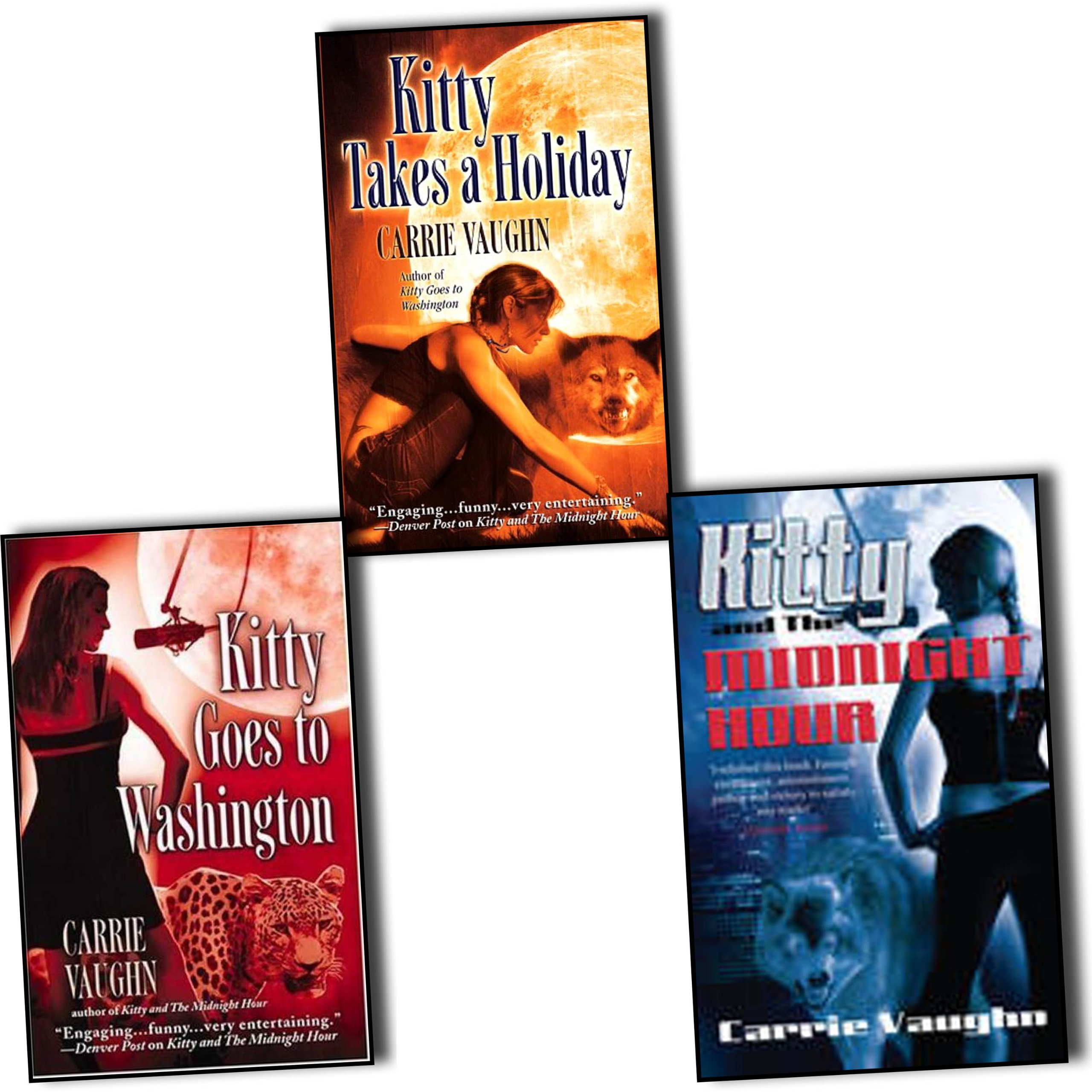 Kitty Norville Series Books 3 Number 1 2 And The Midnight Hour Goes To Washington Takes A Holiday Rrp