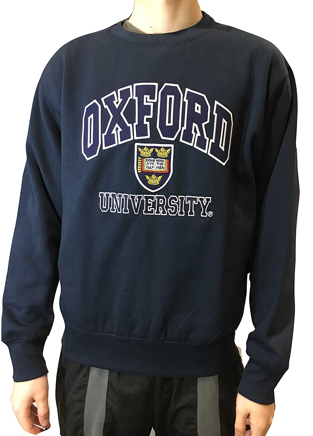 Official Oxford University Sweatshirt - Official Apparel of the Famous  University of Oxford at Amazon Women s Clothing store  c3d245fe6b