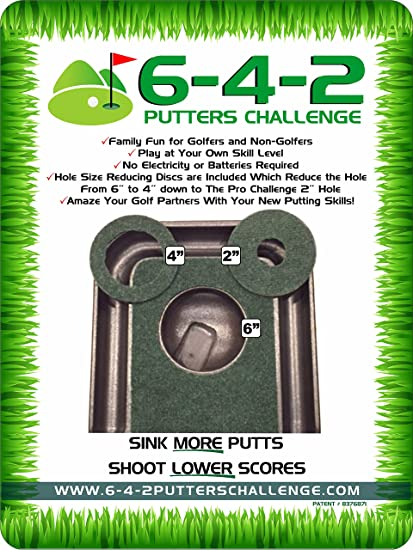 Amazon.com: 6 – 4-2 Putters Challenge Golf Sets de regalo ...