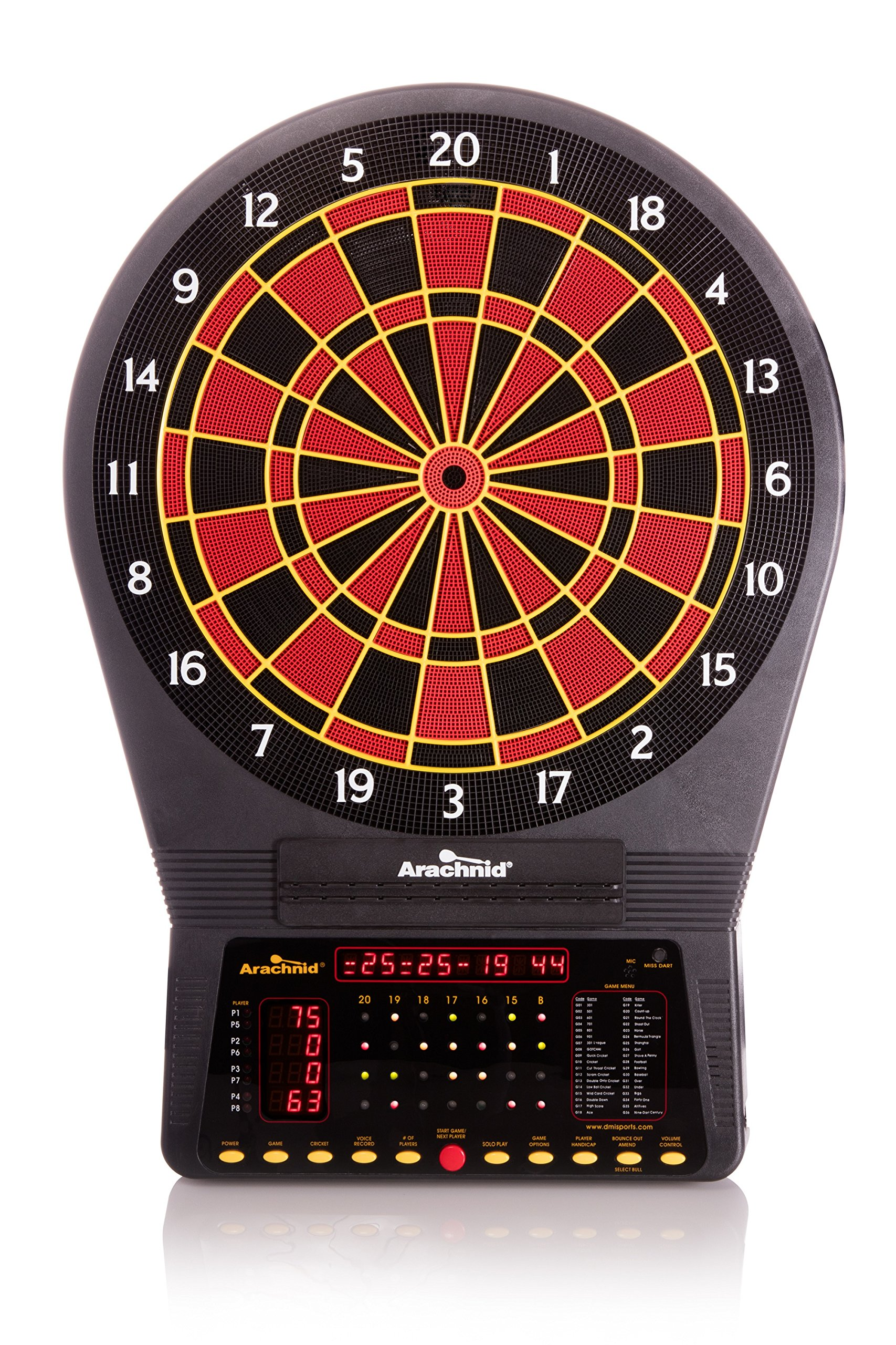 Arachnid Cricket Pro 750 Electronic Dartboard by Arachnid