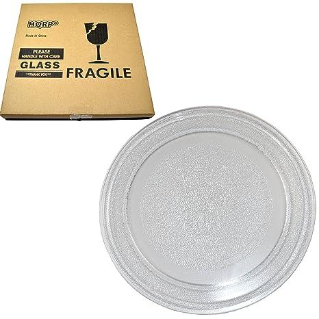 Amazon.com: HQRP 9 – 5/8 inch bandeja de vidrio giratoria ...