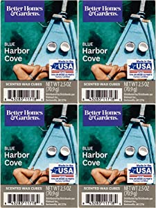 Better Homes and Gardens Blue Harbor Cove Wax Cubes - 4-Pack