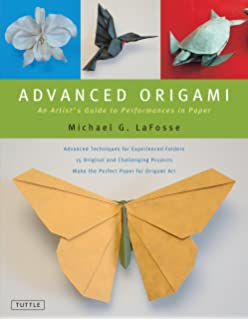 Origami master class flowers marcio noguchi sherry gerstein advanced origami an artists guide to performances in paper origami book with 15 challenging mightylinksfo Gallery