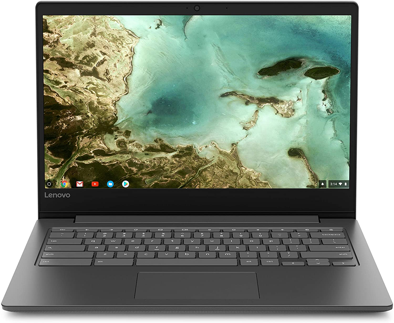 "Newest Lenovo Flagship Chromebook S330, 14"" HD Display, MediaTek MT8173C Processor, 4GB Memory, 32GB eMMC SSD Storage, Webcam, Bluetooth, HDMI, SD Card Reader, USB-C, Chrome OS"