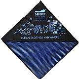 Scrubba XL Toalla de Viaje de secado rápido - para secarte & tu ropa - estupendo para la playa, piscina, camping, viajes