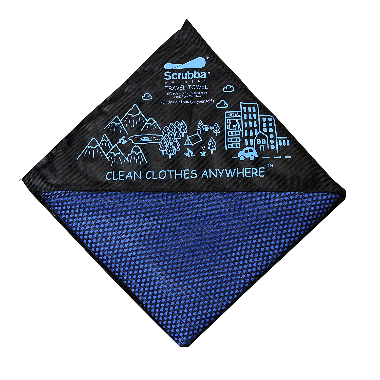 Scrubba XL Toalla de Viaje de secado rápido - para secarte & tu ropa - estupendo para la playa, piscina, camping, viajes: Amazon.es: Deportes y aire libre