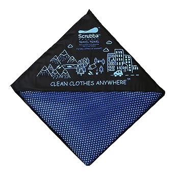 Scrubba XL Toalla de Viaje de secado rápido - para secarte & tu ropa - estupendo