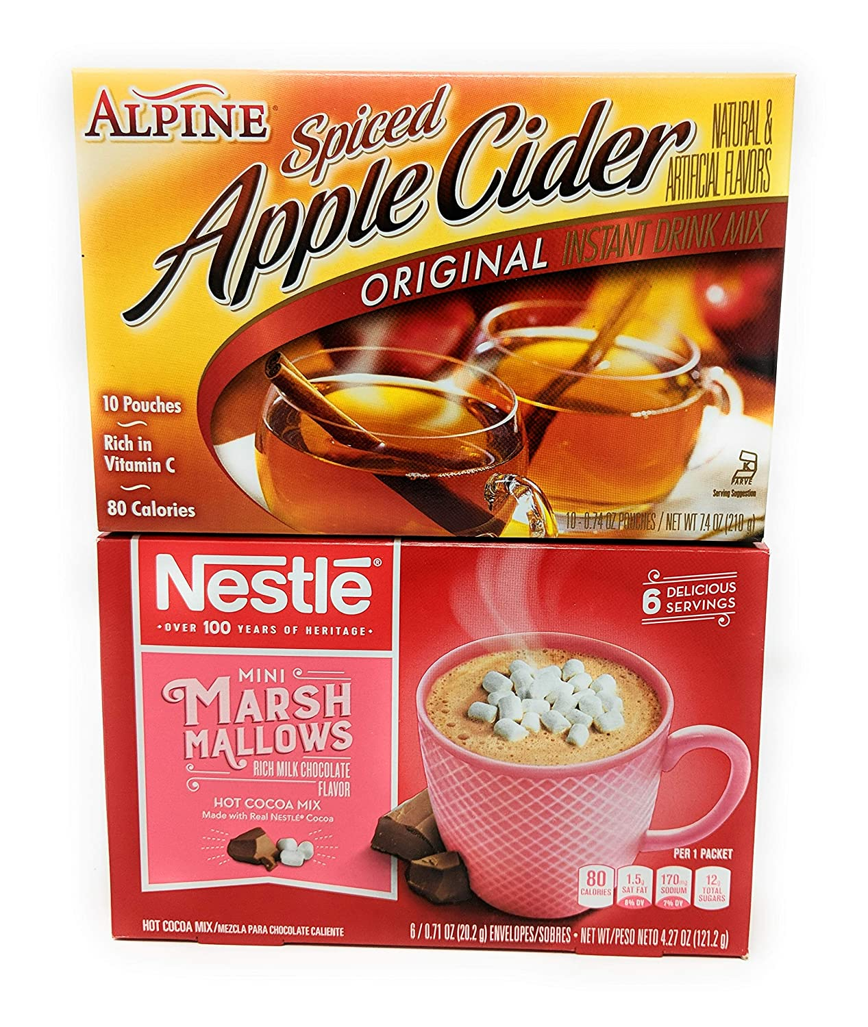 Apple Cider and Hot Chocolate Mix Bundle
