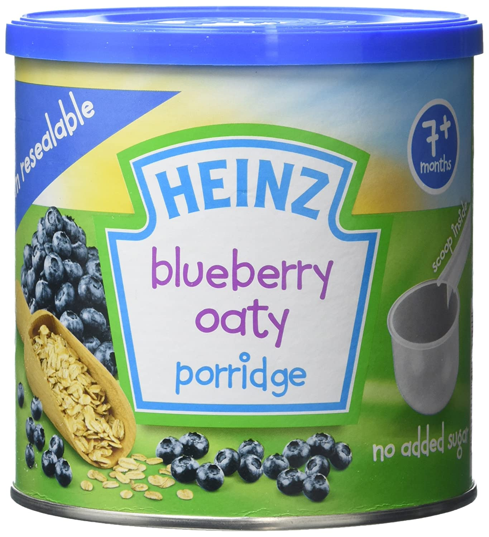 Heinz Baby Tub and Scoop Blueberry Oaty Porridge, 240 g (Pack of 3) 76007780