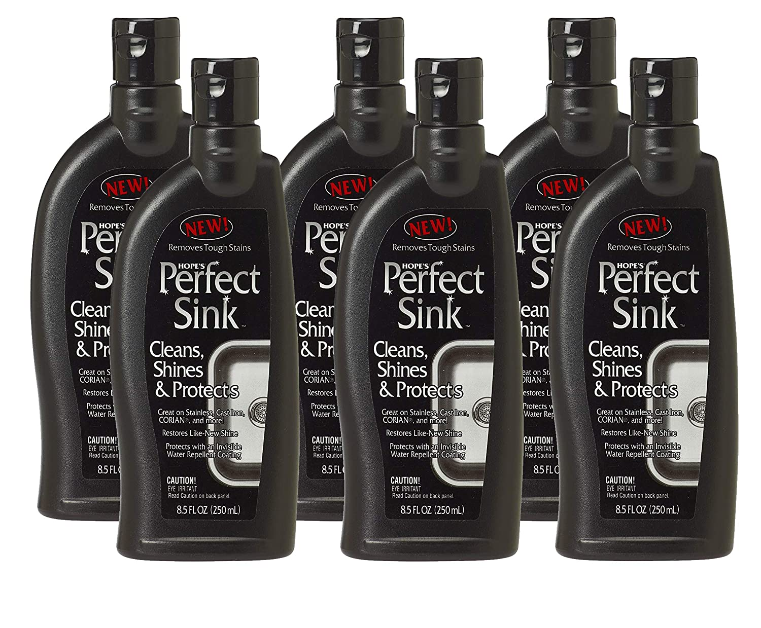 (Pack of 6) - Hope's Perfect Sink Cleaner & Polish, 250ml, Case of 6 B00CIIJDZ0  Pack of 6