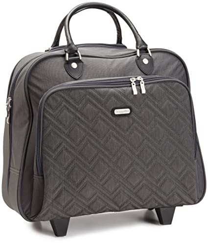 54584fd216a4 Amazon.com  Baggallini Luggage Zig Zag Quilted Rolling Tote Bag ...