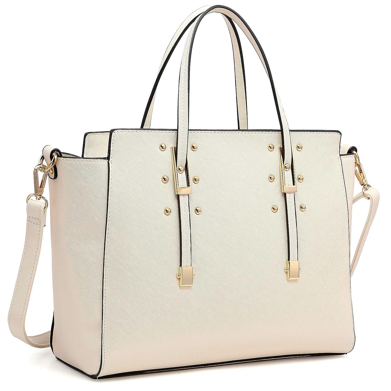 7aca85b402 Amazon.com  Womens Fashion Handbag Designer Shoulder Bag Structured Satchel Bag  Top Handle Bag  Shoes