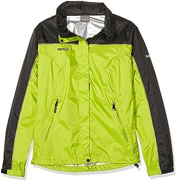 Izas Annapurna - Chaqueta de Lluvia para Mujer, Color Verde Claro/Negro: Amazon.es: Zapatos y complementos