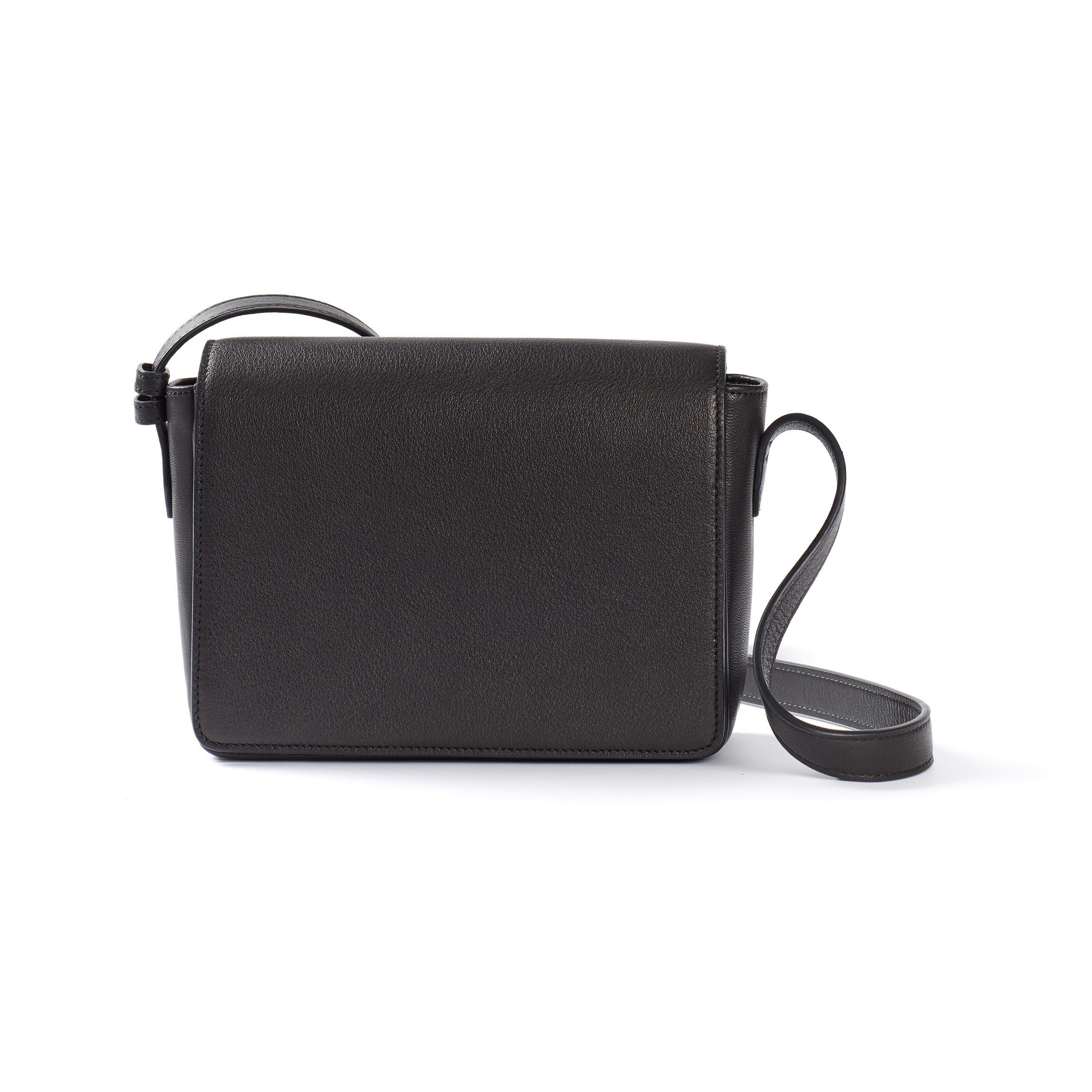 Addison Crossbody - Full Grain Leather - Black Onyx (black)