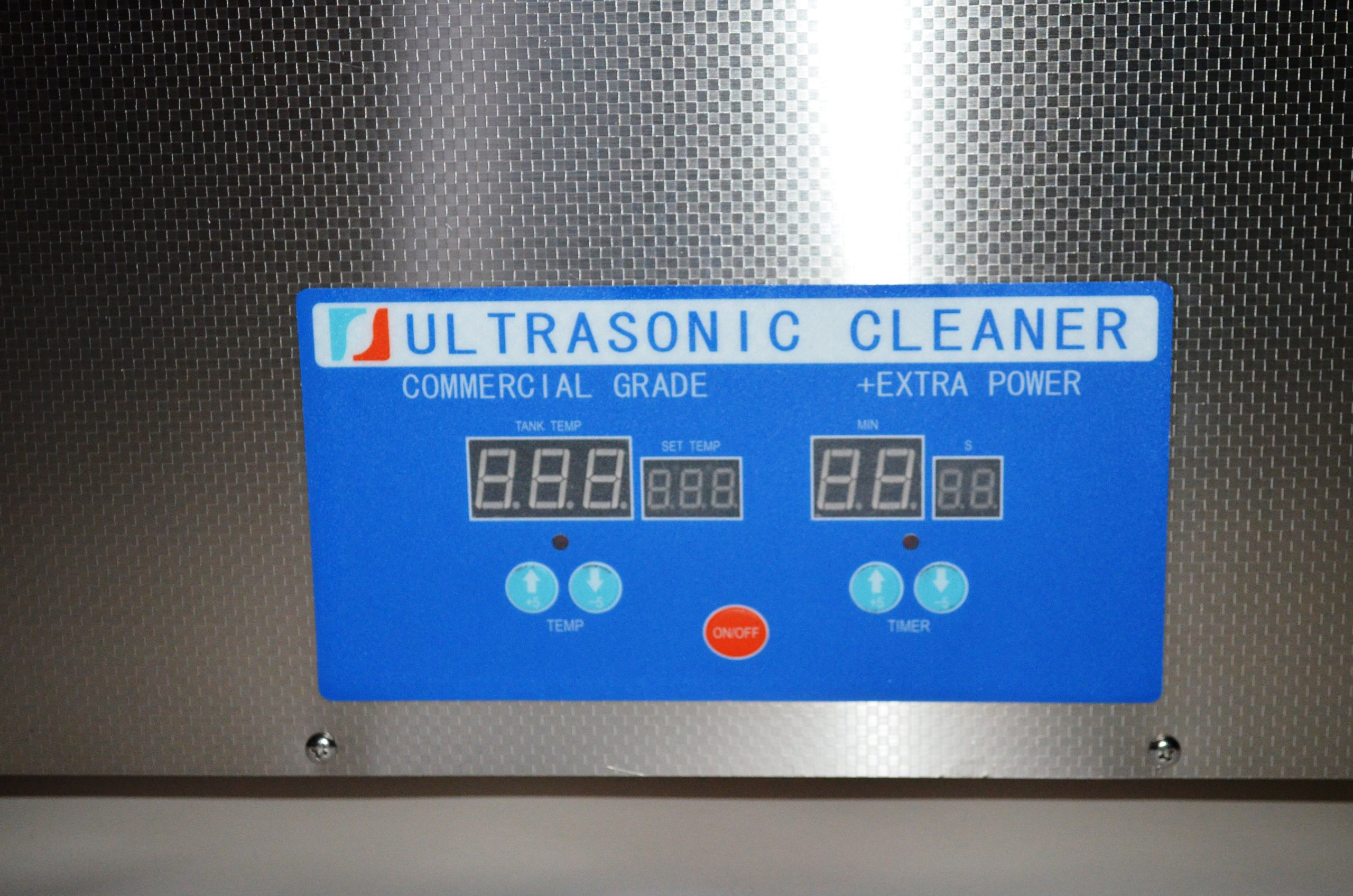 ''COMMERCIAL+ EXTRA POWER'' SERIES DSA800SE-SK2 30L (8 GAL) 1600 WATTS 40KHz DIGITAL HEATED INDUSTRIAL STAINLESS STEEL ULTRASONIC PARTS CLEANER MACHINE WITH INBOARD BASKET AND TOP COVER LID by Desen Precision Instruments Co (Image #3)