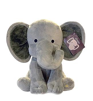 Amazon.com: KINREX Peluche de elefante de peluche para bebé ...