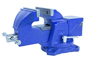 Yost Tools Yost 6-Inch Workshop Duty Bench Vise, Model BV-6, with 120-Degree Swivel Base