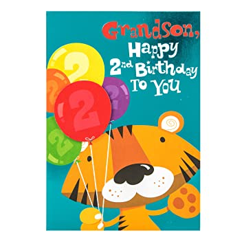 Hallmark 2nd birthday card for grandson roarsome day medium hallmark 2nd birthday card for grandson roarsome day medium bookmarktalkfo Choice Image