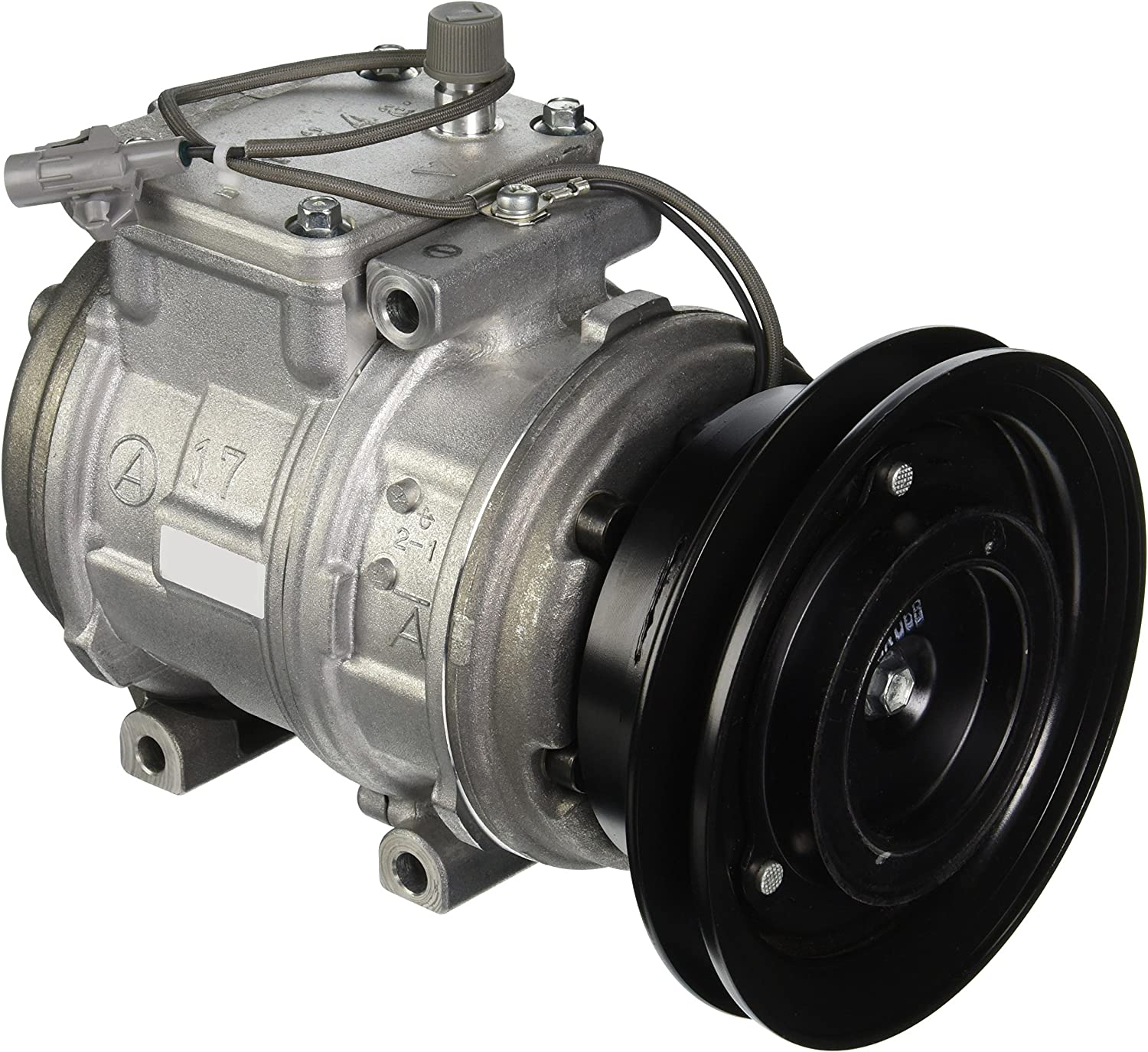 Denso 471-1218 New Compressor with Clutch