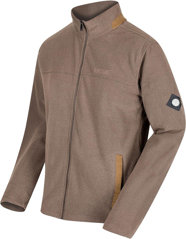 Regatta Mens Giffard Honeycomb Adjustable Drawcord Fleece Jacket