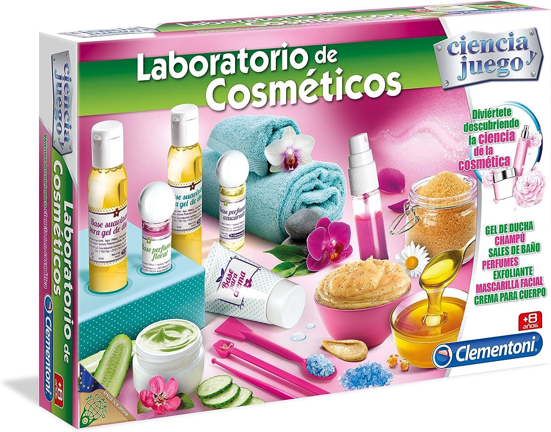 Clementoni- Juego Laboratorio cosméticos+8años 41x28 Kit CREA (55203.0): Amazon.es: Juguetes y juegos