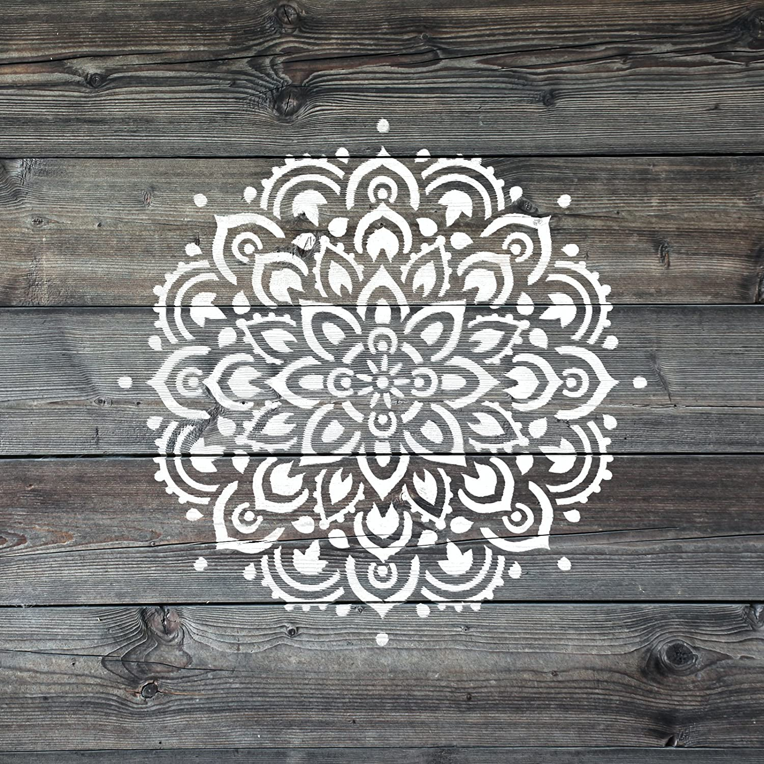 Perfect Wall Stencils for Home Decor Reusable Large or Small Mandala Sizes for Crafts Mandala Stencil Template