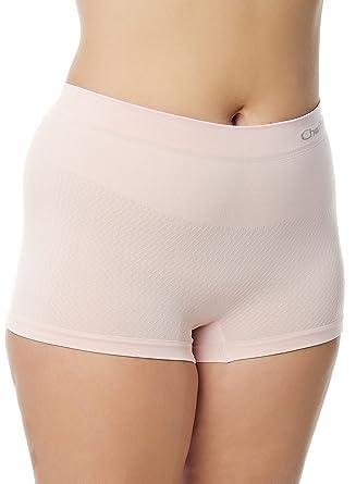 Chaffree Anti Rozaduras - Calzoncillos bóxer para Mujer | diseño de Flores | de Color Rosa Midi | Multisize pequeñas 2 X L | Ropa Interior Boy Pantalones ...