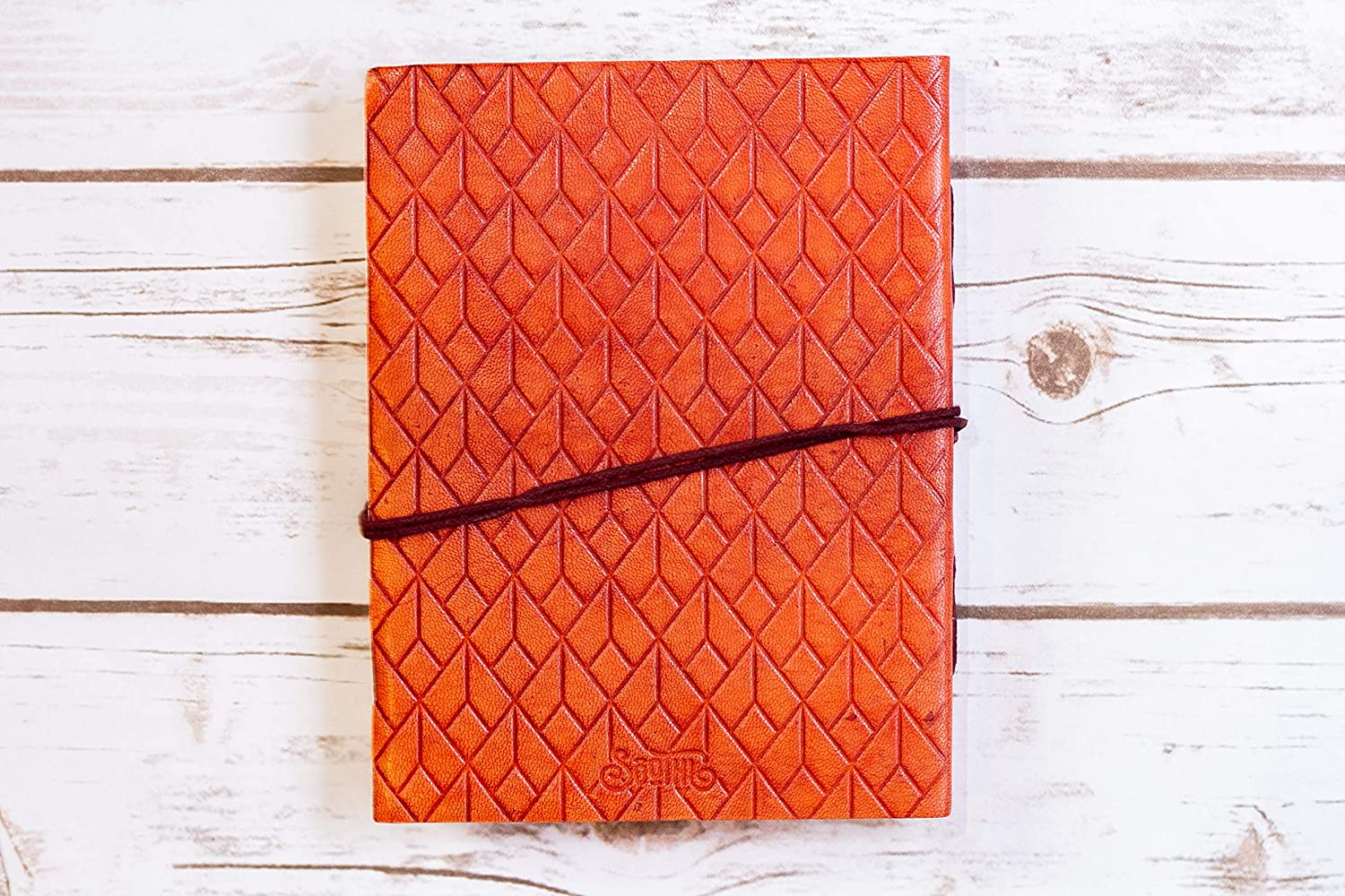 I Can Choose Handmade Leather Journal