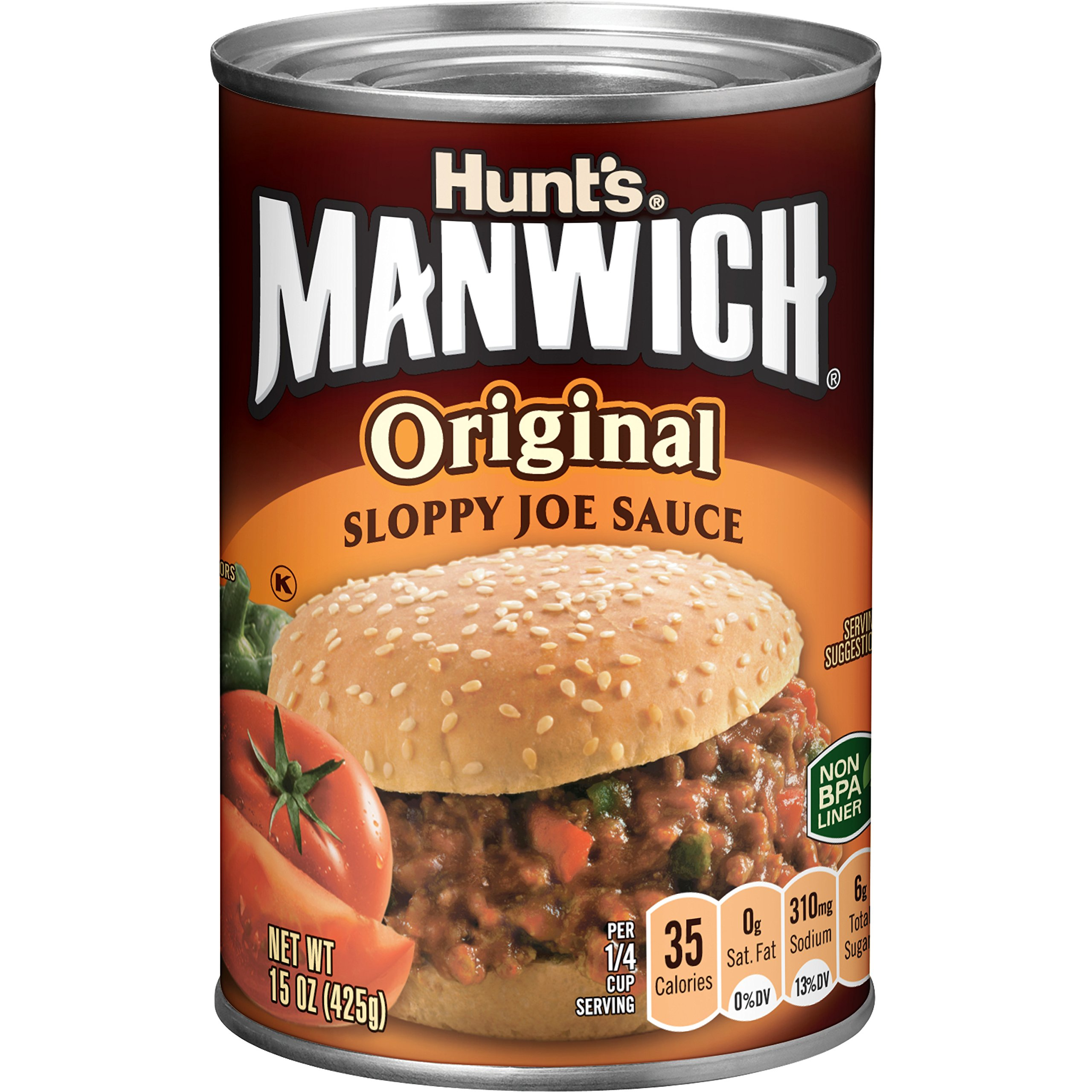 Manwich Original SloppyJoe Sauce, 15 oz