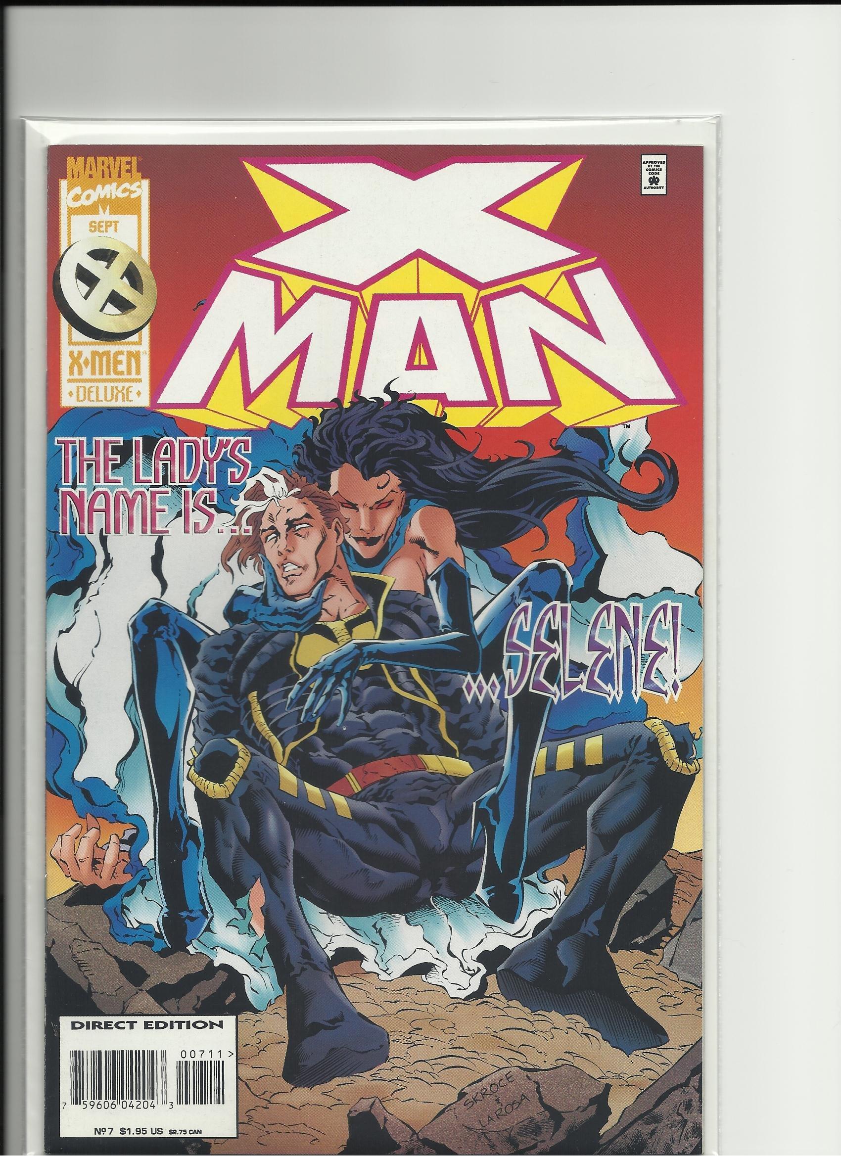 Read Online X-Man #7 PDF
