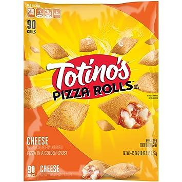 Totinos Pizza Rolls Cheese 90 Rolls 445 Oz Bag Frozen
