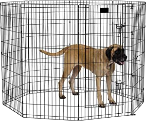 Midwest Foldable Metal Exercise Pen