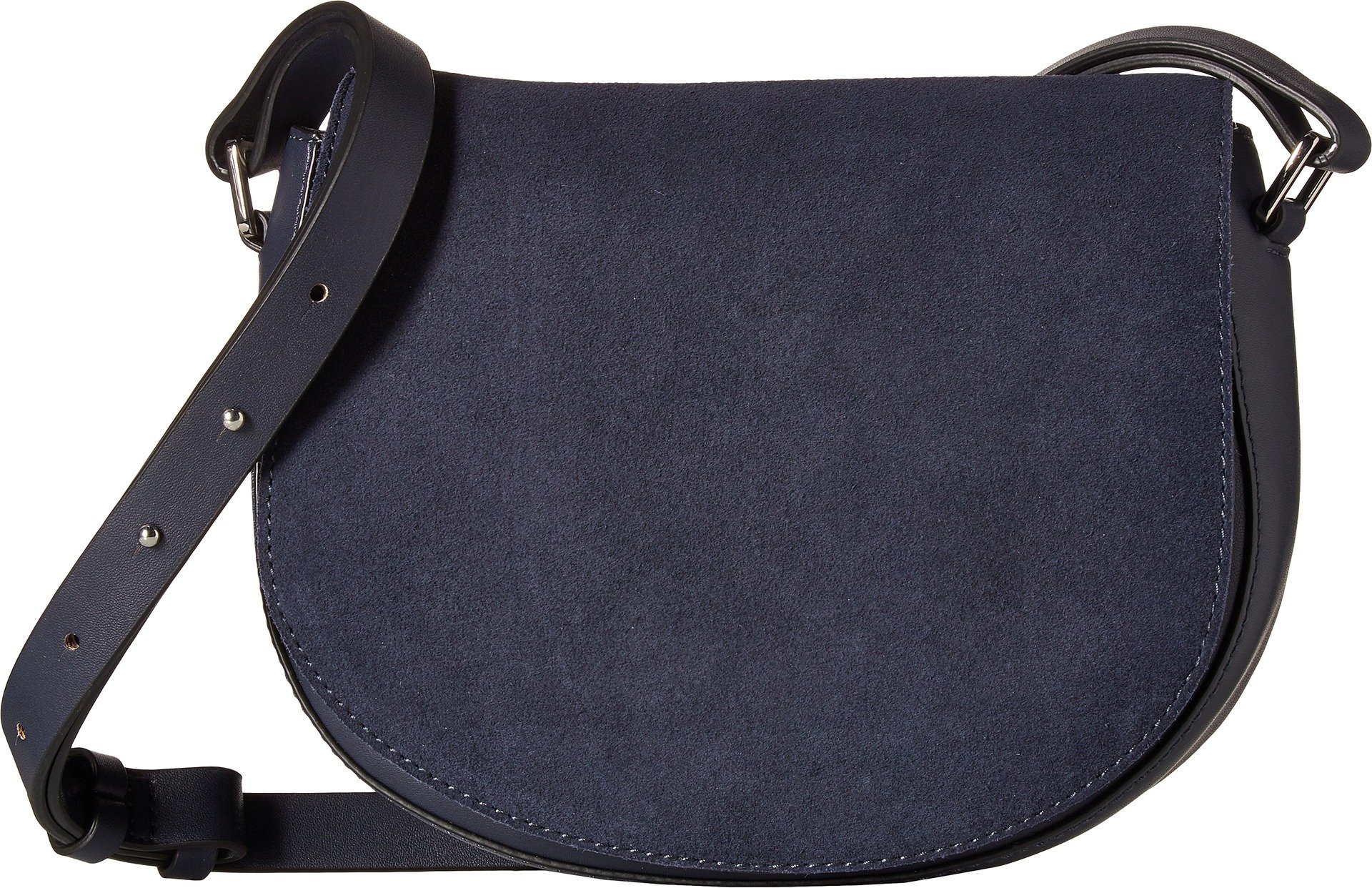 French Connection Womens Silvia Saddle Bag Nocturnal One Size