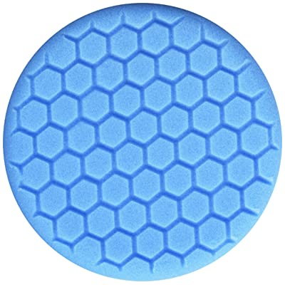 Chemical Guys BUFX_105HEX6 Blue Light Polishing/Finishing Pad (6.5 Inch Pad Made for 6 Inch Backing Plates): Automotive